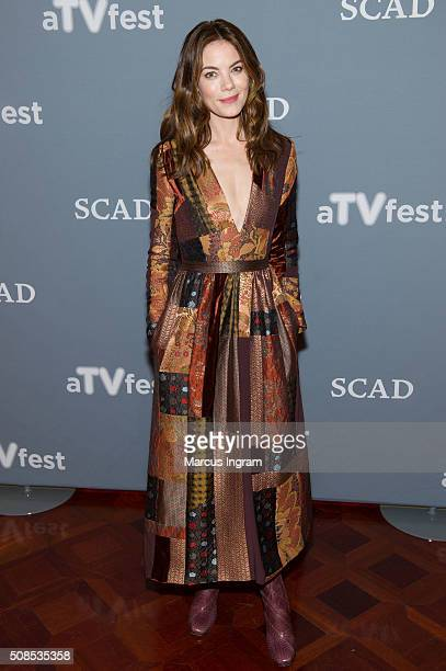 Actress Michelle Monaghan attends SCAD aTVfest 2016 Day1The Path at the Four Seasons Atlanta Hotel on February 4 2016 in Atlanta Georgia