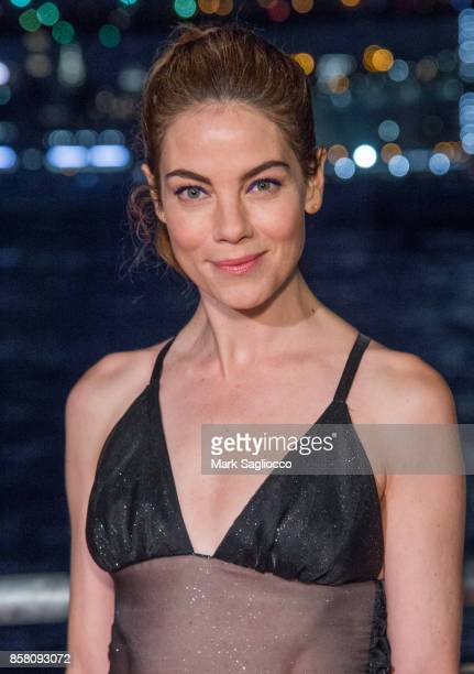 Actress Michelle Monaghan attends the 2017 Brooklyn Bridge Park Conservancy Brooklyn Black Tie Ball at Pier 2 at Brooklyn Bridge Park on October 5...