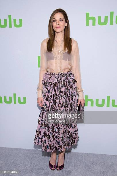 Actress Michelle Monaghan attends the 2017 Hulu Television Critics Association winter press tour at Langham Hotel on January 7 2017 in Pasadena...