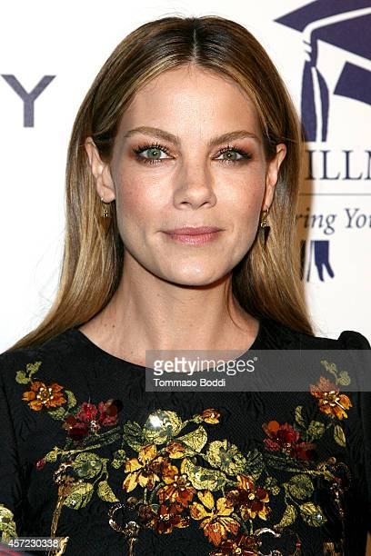 Actress Michelle Monaghan attends the 20th annual Fulfillment Fund Stars benefit gala held at The Beverly Hilton Hotel on October 14 2014 in Beverly...