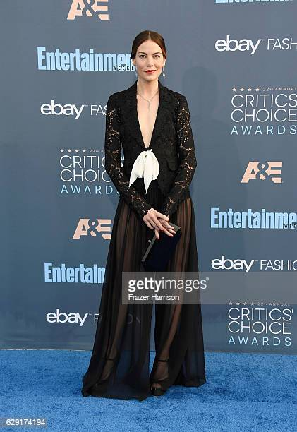 Actress Michelle Monaghan attends The 22nd Annual Critics' Choice Awards at Barker Hangar on December 11 2016 in Santa Monica California