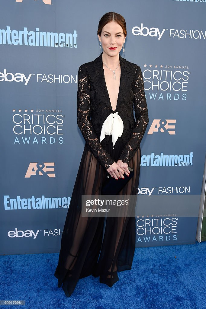 Actress Michelle Monaghan attends The 22nd Annual Critics' Choice Awards at Barker Hangar on December 11, 2016 in Santa Monica, California.
