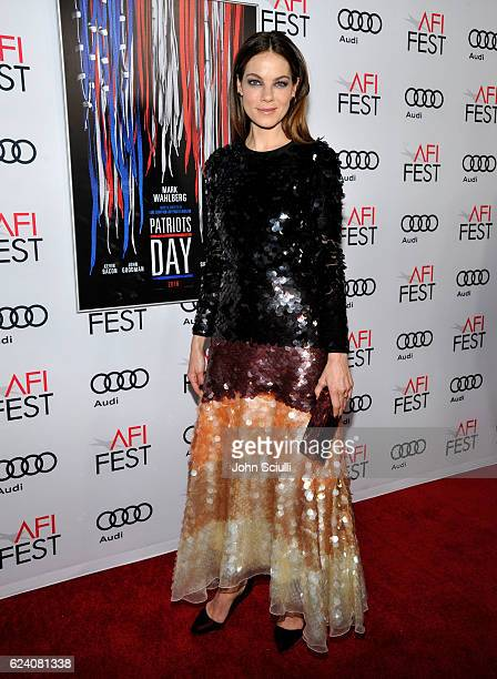 Actress Michelle Monaghan attends the AFI Closing Night Screening of 'Patriots Day' at TCL Chinese Theatre on November 17 2016 in Hollywood California