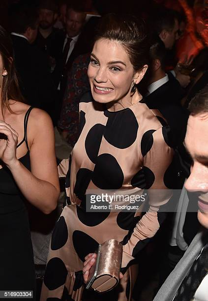 Actress Michelle Monaghan attends the after party for the premiere of Hulu's 'The Path' at ArcLight Hollywood on March 21 2016 in Hollywood California