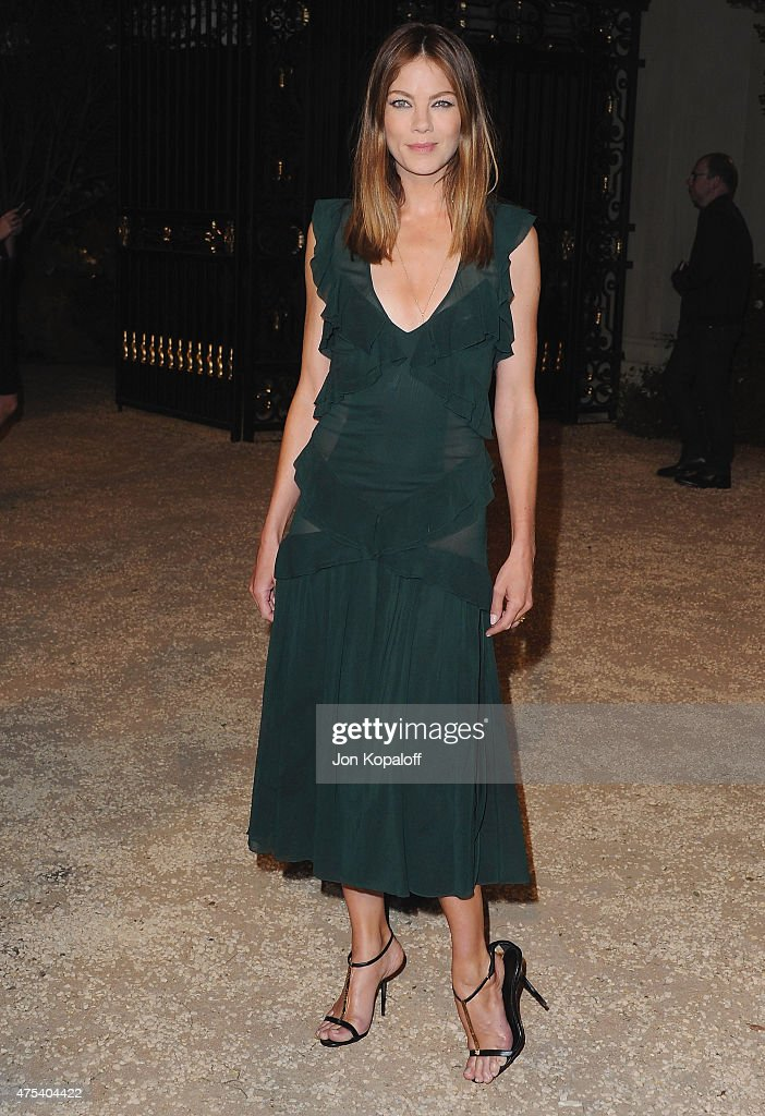 Actress Michelle Monaghan attends the Burberry 'London in Los Angeles' event at Griffith Observatory on April 16, 2015 in Los Angeles, California.