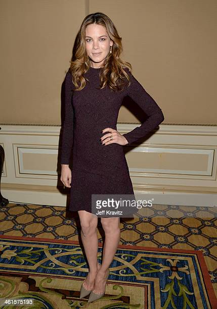 Actress Michelle Monaghan attends the HBO Winter 2014 TCA Panel at The Langham Huntington Hotel and Spa on January 9 2014 in Pasadena California