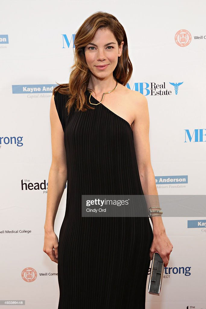 Actress Michelle Monaghan attends The Headstrong Project's 3rd annual Words of War event at One World Trade Center on October 19, 2015 in New York City.