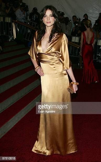 Actress Michelle Monaghan attends the Metropolitan Museum of Art Costume Institute Benefit Gala Anglomania at the Metropolitan Museum of Art May 1...