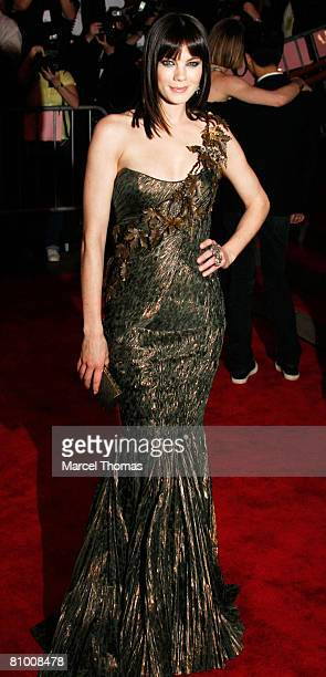 Actress Michelle Monaghan attends the Metropolitan Museum of Art Costume Institute Gala Superheroes Fashion Fantasy at the Metropolitan Museum of Art...