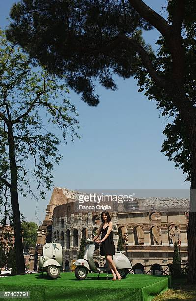 Actress Michelle Monaghan attends the 'Mission Impossible 3' photocall at The Colosseum ahead of this evening's World Premiere on April 24 2006 in...