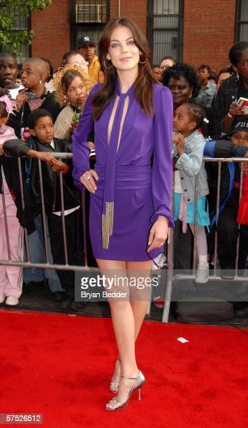 Actress Michelle Monaghan attends the 'Mission Impossible III' premiere in Harlem hosted by BET at the Magic Johnson Theatres on May 3 2006 in New...