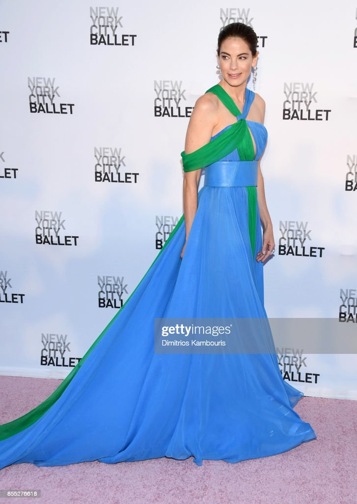 Actress Michelle Monaghan attends the New York City Ballet's 2017 Fall Fashion Gala at David H. Koch Theater at Lincoln Center on September 28, 2017 in New York City.