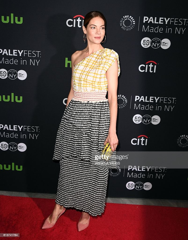 Actress Michelle Monaghan attends the PaleyFest: Made in New York: 'The Path' screening event on October 9, 2016 in New York. / AFP / ANGELA