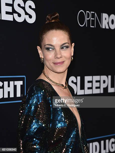 Actress Michelle Monaghan attends the Premiere of Open Road Films' Sleepless at Regal LA Live Stadium 14 on January 5 2017 in Los Angeles California