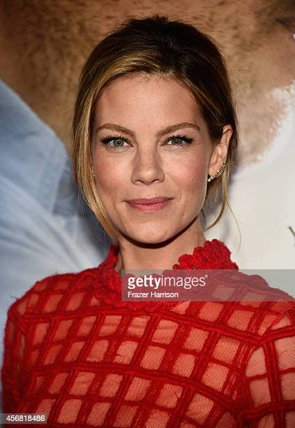 Actress Michelle Monaghan attends the premiere of Relativity Studios' The Best Of Me at Regal Cinemas LA Live on October 7 2014 in Los Angeles...