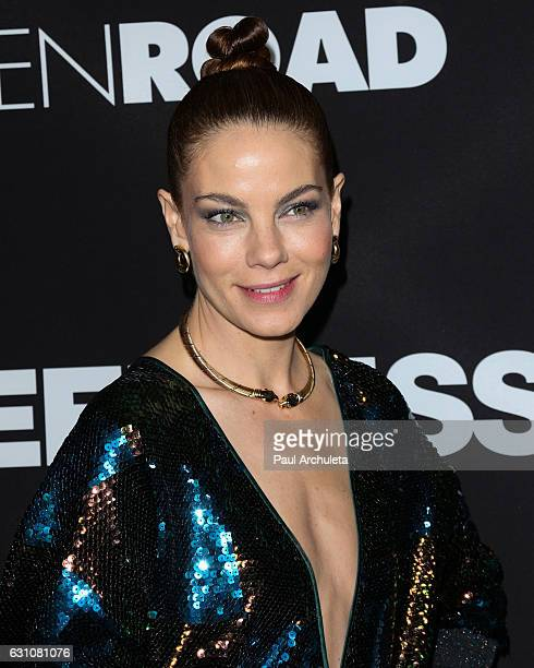 Actress Michelle Monaghan attends the premiere of Sleepless at the Regal LA Live Stadium 14 on January 5 2017 in Los Angeles California