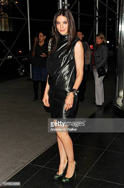 """Actress Michelle Monaghan attends the screening of """"Fair Game"""" hosted by Giorgio Armani & The Cinema Society at The Museum of Modern Art on October..."""