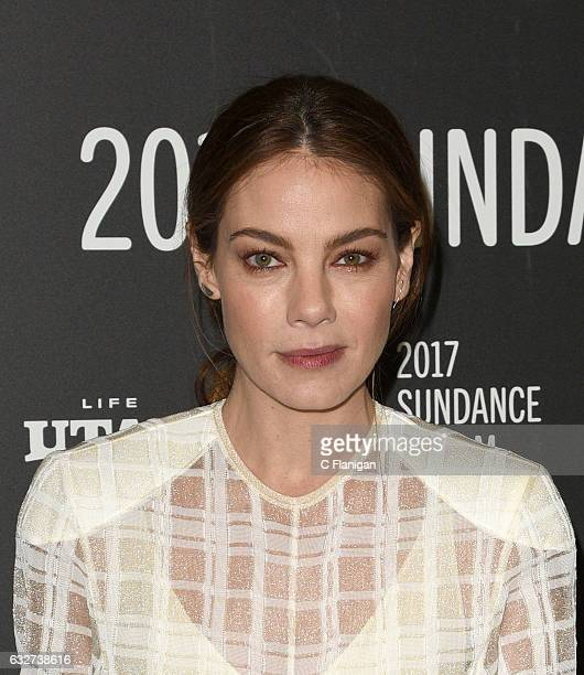 Actress Michelle Monaghan attends the 'Sidney Hall' Premiere during 2017 Sundance Film Festival at Eccles Center Theatre on January 25 2017 in Park...