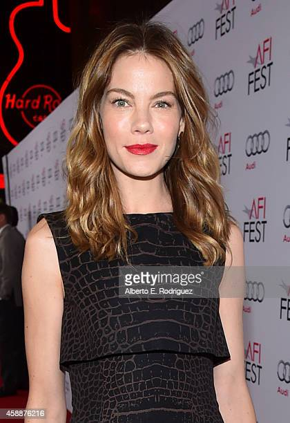 Actress Michelle Monaghan attends the special tribute to Sophia Loren during the AFI FEST 2014 presented by Audi at Dolby Theatre on November 12 2014...