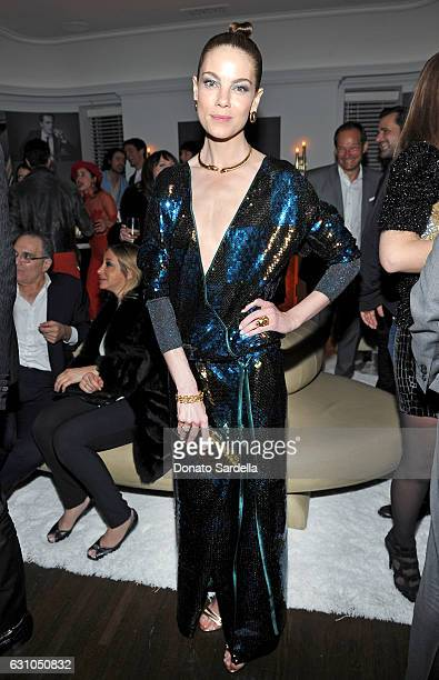 Actress Michelle Monaghan attends W Magazine Celebrates the Best Performances Portfolio and the Golden Globes with Audi and Moet Chandon at Chateau...