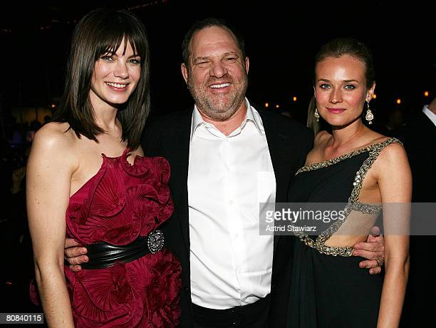 Actress Michelle Monaghan Harvey Weinstein and Diane Kruger attends the Design Cares Presents A Night Of A Thousand Lights To Benefit St Jude's...