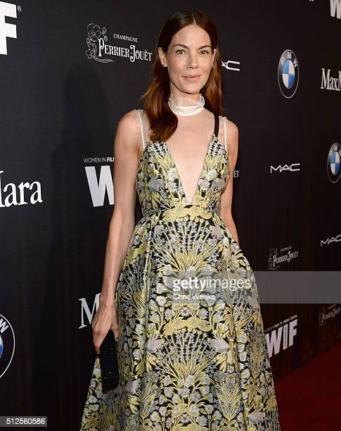 Actress Michelle Monaghan in Max Mara attends Ninth Annual Women In Film PreOscar Cocktail Party Cohosted by PerrierJouët on February 26 2016 in West...