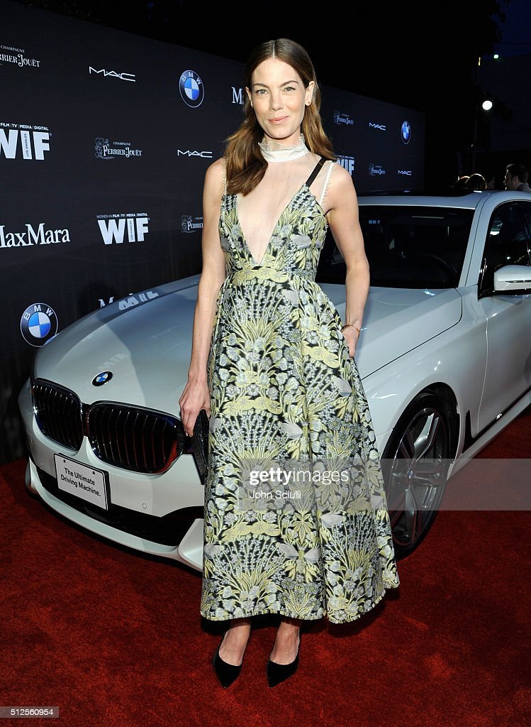 Ninth Annual Women In Film Pre-Oscar Cocktail Party Presented By Max Mara, BMW, M-A-C Cosmetics And Perrier-Jouet - Red Carpet : News Photo