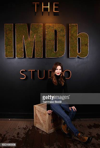 Actress Michelle Monaghan of 'Sidney Hall' attends The IMDb Studio featuring the Filmmaker Discovery Lounge presented by Amazon Video Direct Day Four...