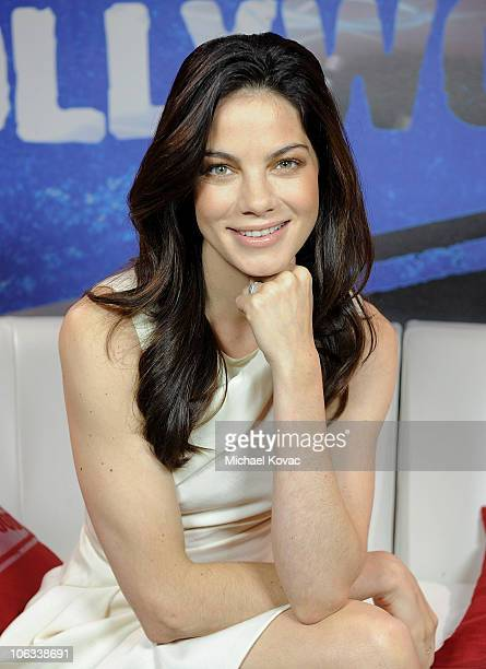 Actress Michelle Monaghan visits YoungHollywoodcom at Young Hollywood Studios on October 27 2010 in Los Angeles California