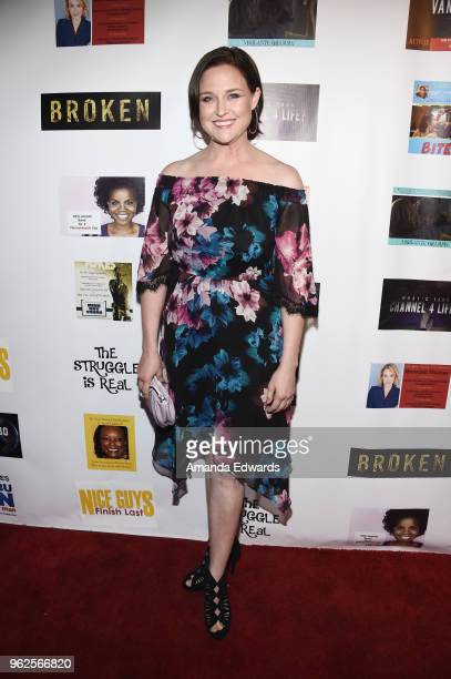 Actress Michelle Mueller arrives at the FYC Us Independents Screenings and Red Carpet at the Elks Lodge on May 25 2018 in Van Nuys California
