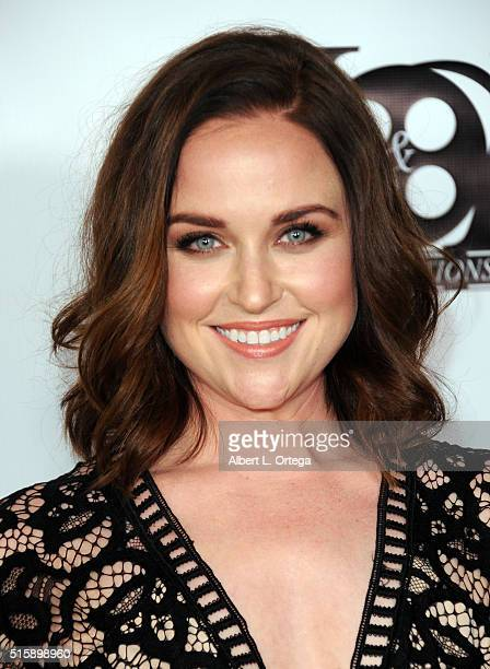 Actress Michelle Mueller arrives for the Premiere Of JR Productions' Halloweed held at TCL Chinese 6 Theatres on March 15 2016 in Hollywood California