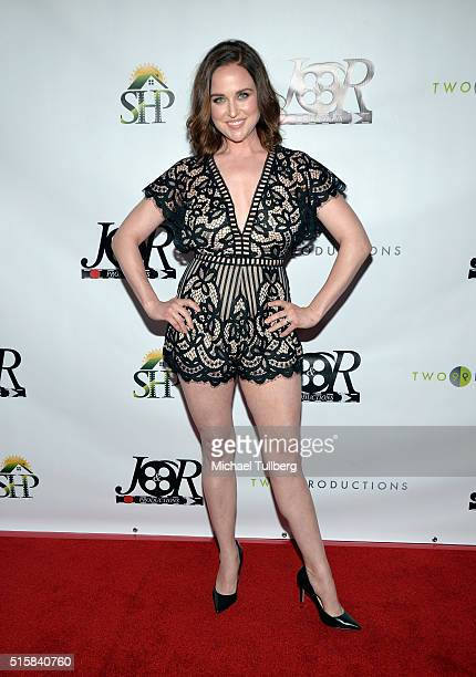 Actress Michelle Mueller attends the premiere of JR Productions' Halloweed at TCL Chinese 6 Theatres on March 15 2016 in Hollywood California