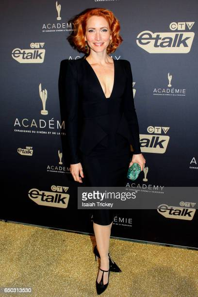 Actress Michelle Nolden arrives at the Academy of Canadian Cinema and Television's 2017 Canadian Screen Awards gala 2 at Westin Harbour Castle Hotel...