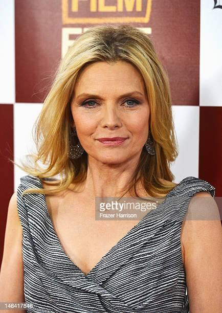"Actress Michelle Pfeiffer arrives at the 2012 Los Angeles Film Festival premiere of ""People Like Us"" at Regal Cinemas L.A. LIVE Stadium 14 on June..."