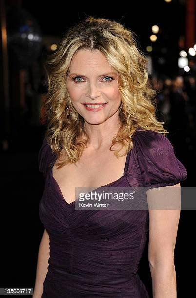 Actress Michelle Pfeiffer arrives at the premiere of Warner Bros Pictures' 'New Year's Eve' at Grauman's Chinese Theatre on December 5 2011 in...