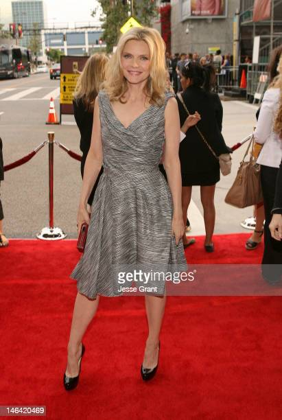 Actress Michelle Pfeiffer attends the 2012 Los Angeles Film Festival Premiere of 'People Like Us' at Regal Cinemas L.A. LIVE Stadium 14 on June 15,...