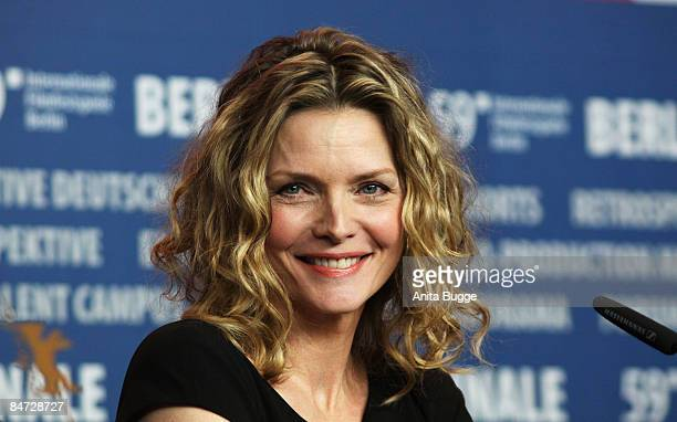 Actress Michelle Pfeiffer Attends The Cheri Press Conference During The 59th Berlin International Film