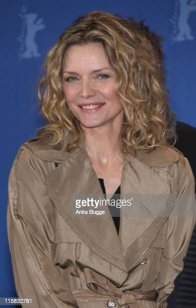 Actress Michelle Pfeiffer attends the photocall for 'Cheri' as part of the 59th Berlin Film Festival at the Grand Hyatt Hotel on February 10 2009 in...