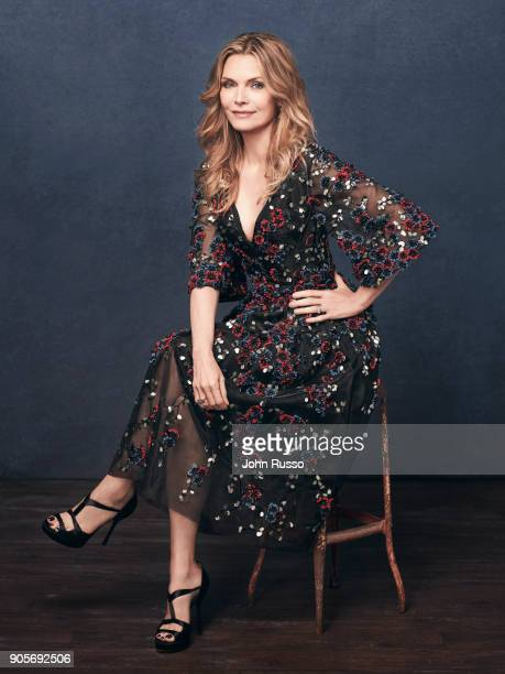 Actress Michelle Pfeiffer is photographed for 20th Century Fox on July 18 2017 in Los Angeles California ON EMBARGO UNTIL FEBRUARY 1 2018