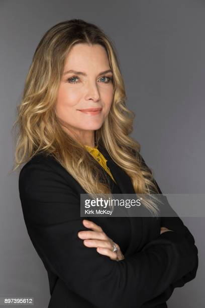 Actress Michelle Pfeiffer is photographed for Los Angeles Times on November 12 2017 in Los Angeles California PUBLISHED IMAGE CREDIT MUST READ Kirk...