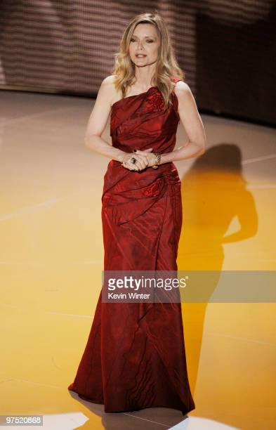 Actress Michelle Pfeiffer onstage during the 82nd Annual Academy Awards held at Kodak Theatre on March 7 2010 in Hollywood California