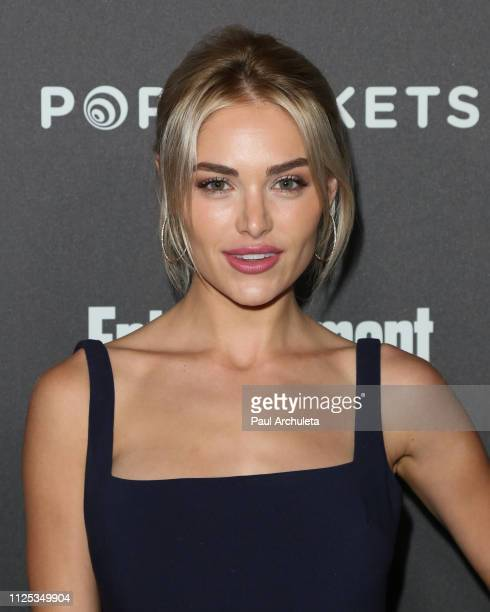 Actress Michelle Randolph attends the Entertainment Weekly PreSAG party at Chateau Marmont on January 26 2019 in Los Angeles California