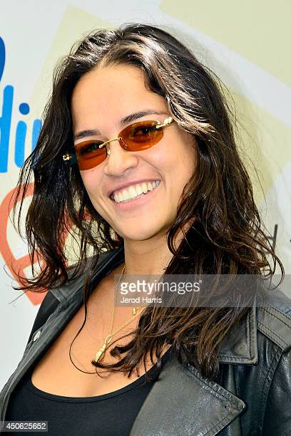 Actress Michelle Rodriguez arrives at Children Mending Hearts' 6th Annual Fundraiser 'Empathy Rocks A Spring Into Summer Bash' on June 14 2014 in...