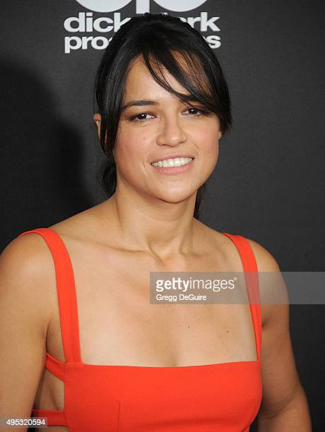 Actress Michelle Rodriguez arrives at the 19th Annual Hollywood Film Awards at The Beverly Hilton Hotel on November 1 2015 in Beverly Hills California