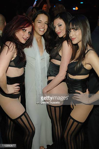 Actress Michelle Rodriguez at an Evening Hosted by Stacy Keibler at CatHouse at Luxor Las Vegas on May 02 2008 in Las Vegas Nevada