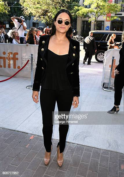 Actress Michelle Rodriguez attends the ' ASSIGNMENT' Premiere during 2016 Toronto International Film Festival at Ryerson Theatre on September 14 2016...