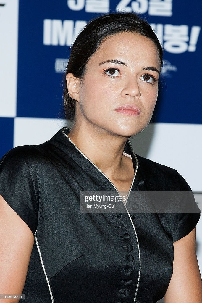 Actress Michelle Rodriguez Attends The Fast Furious 6 Press News Photo Getty Images