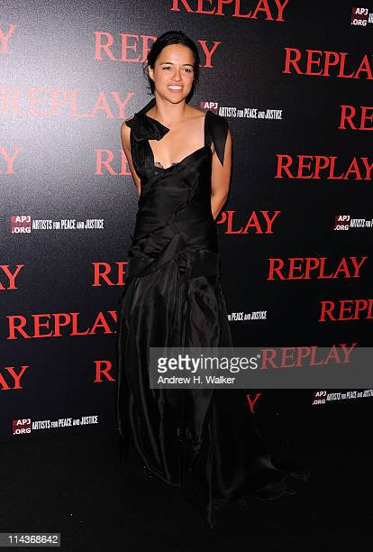 Actress Michelle Rodriguez attends the Jamiroquai and Replay Party during the 64th Annual Cannes Film Festival at the Martinez Hotel on May 18 2011...