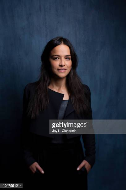 Actress Michelle Rodriguez from 'Widows' is photographed for Los Angeles Times on September 8 2018 in Toronto Ontario PUBLISHED IMAGE CREDIT MUST...