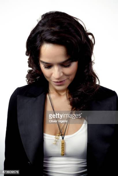 Actress Michelle Rodriguez is photographed for Self Assignment on September 2 2017 in Deauville France